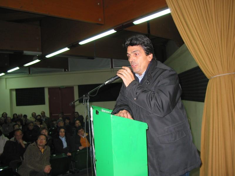 Tommaso Romeo. Presidente della Comunità Montana Collina Materana