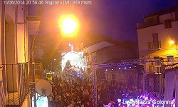 Webcam piazza Colonna Stigliano-mt.it