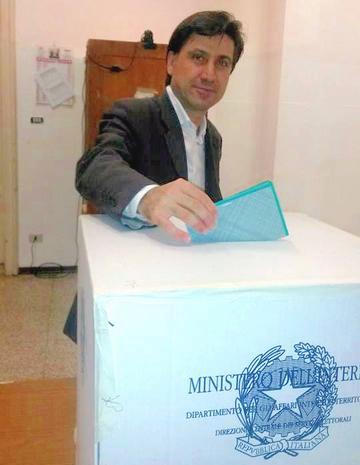 Elezioni regionali in Emilia e Calabria, nella foto Giovanni Fortuna