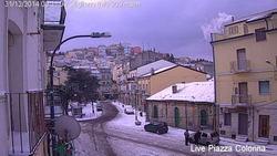 Stigliano (MT), webcam Piazza Colonna