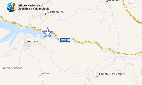 Terremoto Val d'Agri