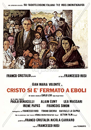 """la locandina del film """"Cristo si è fermato a Eboli"""""""