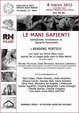 Saverio Panariello in mostra a Milano alla 'Casa delle Arti Alda Merini'