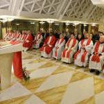 omelia di Papa Francesco nella Chiesa di Santa Marta a Roma