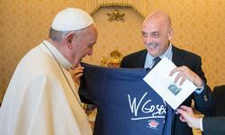 Papa Francesco e Paolo Brosio