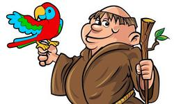 il frate e il pappagallo
