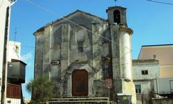 Stigliano (MT) la Chiesa di San Vincenzo