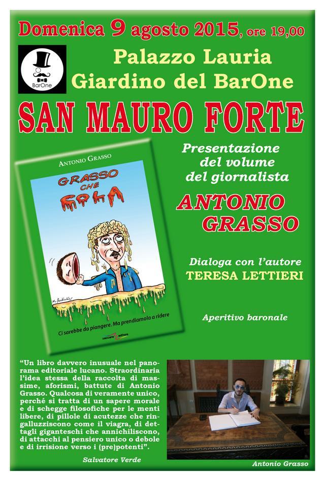 Grasso che cola, il libro di Antonio Grasso