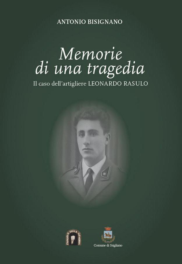 Memorie di una tragedia, il libro di Antonio Bisignano