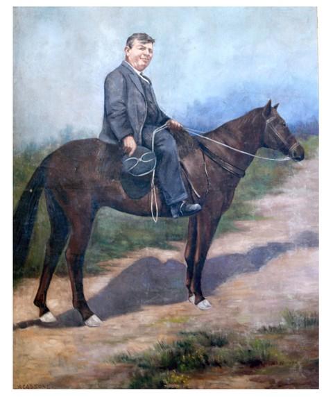 quadro di Alfredo Cassone