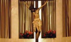 Crocifisso ligneo realizzato da Frate Umile da Petralia