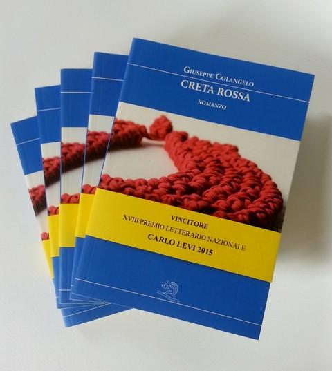 Creta Rossa vince il Premio Letterario Nazionale Carlo Levi 2015