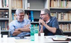 Giuseppe Lupo a sinistra, V Angelo Colangelo a destra