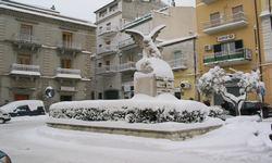 Stigliano (MT), neve del 09 feb 2012