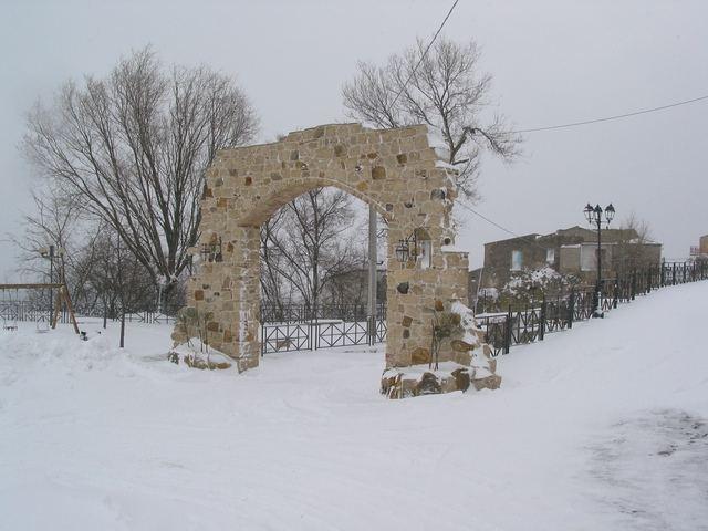 Stigliano (MT), nevicata del 09 feb 2012