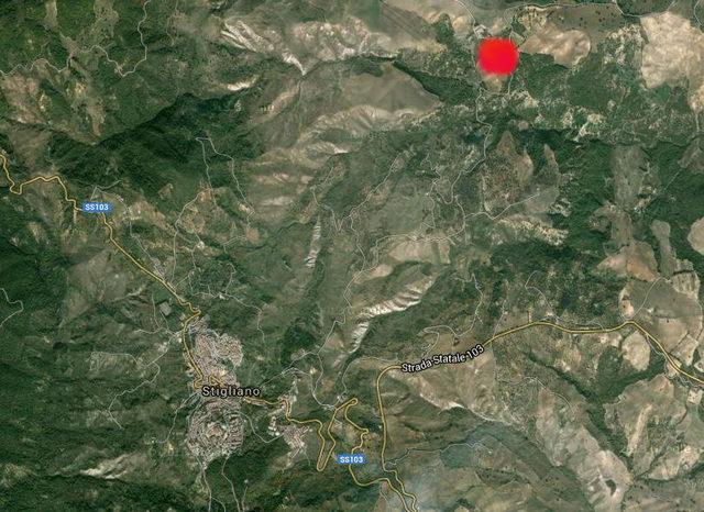 mappa terremoto