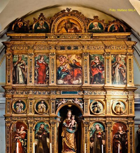 il Polittico rinascimentale del 1521 di Simone da Firenze