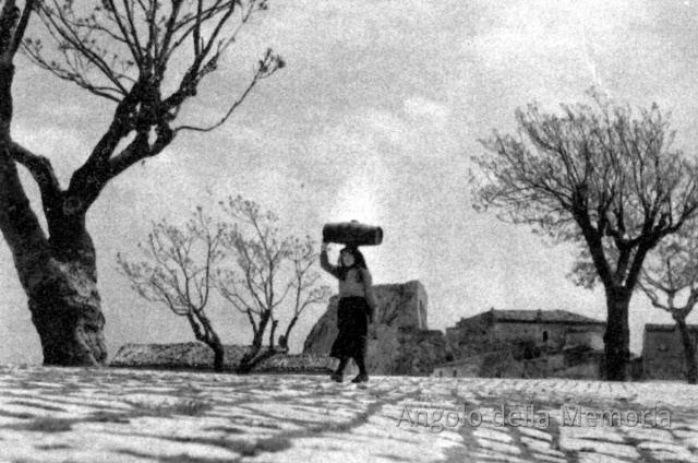 Stigliano, Villa Marina negli anni '50, foto di Fosco Maraini