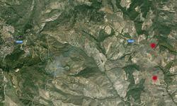 mappa terremoto in località Santo Spirito a Stigliano (MT)