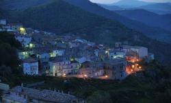Antonio Sinisgallo: Stigliano, scorcio del rione Chiazza