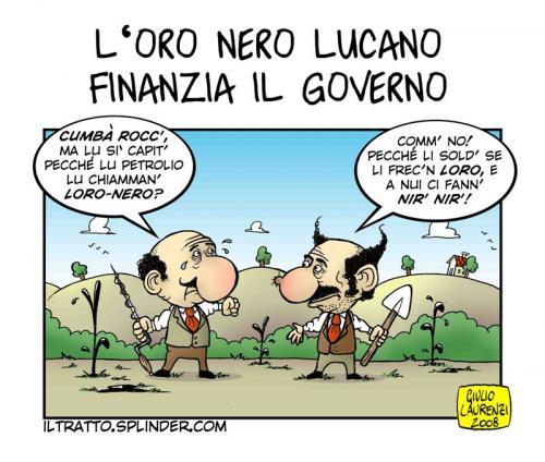 Vignetta Petrolio