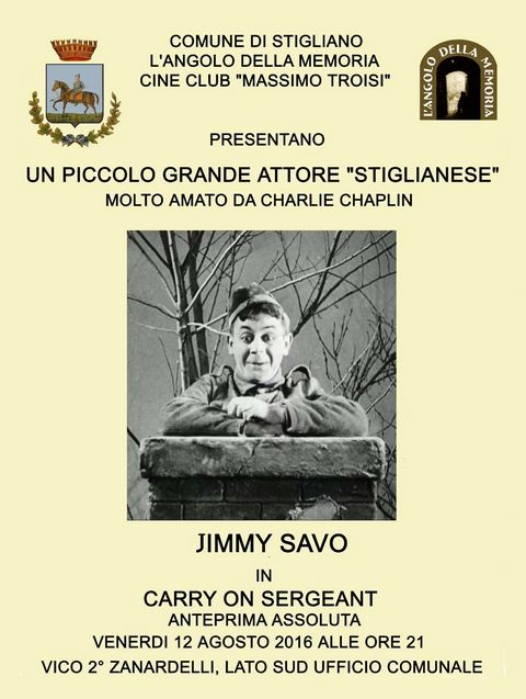 Serata in ricordo di Jimmy Savo