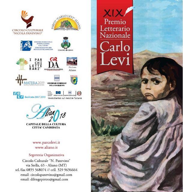 Premio Levi 19ª edizione