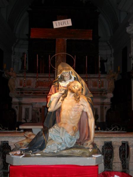 """la """"Pietà"""" prima del Restauro"""