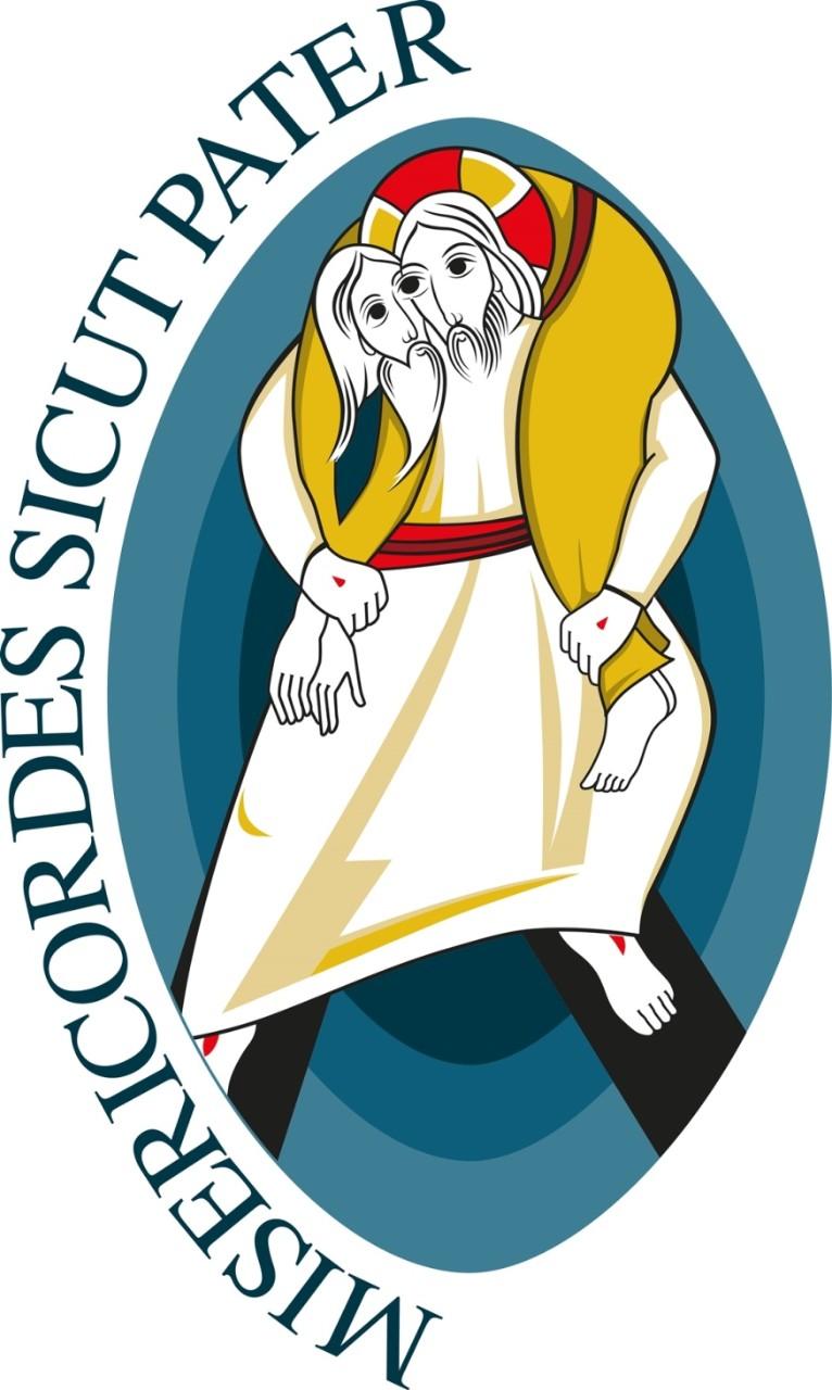 """Logo del Giubileo della Misericordia 2016, """"Misericordiosi come il Padre"""""""