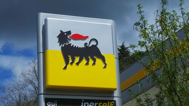 distributore di carburanti ENI