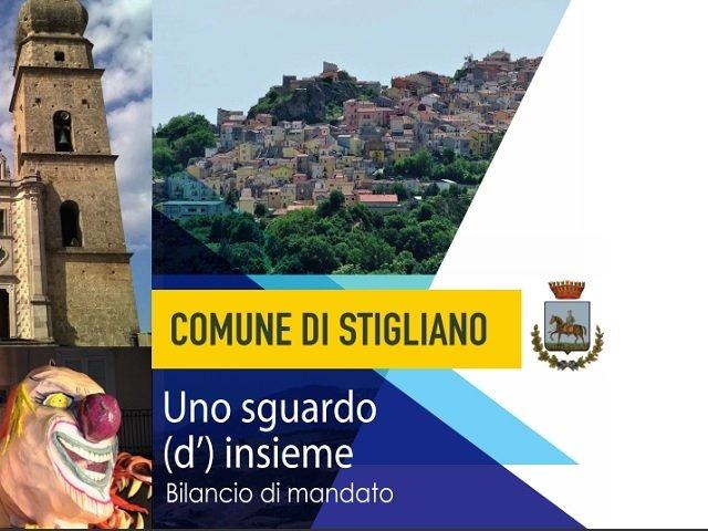 bilancio di mandato comune di Stigliano 2017