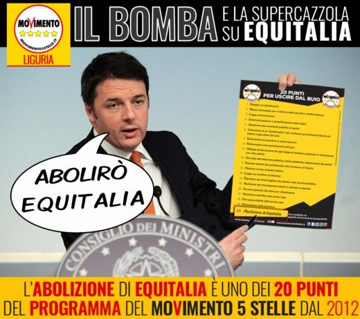 Renzi abolirà equitalia