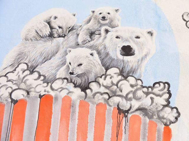le foto di S. Panariello ad appARTEngo Street Art, muralese di Giovanni Disisto