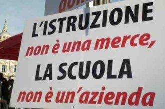 sciopero scuola