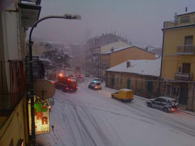 neve a Stigliano (MT)