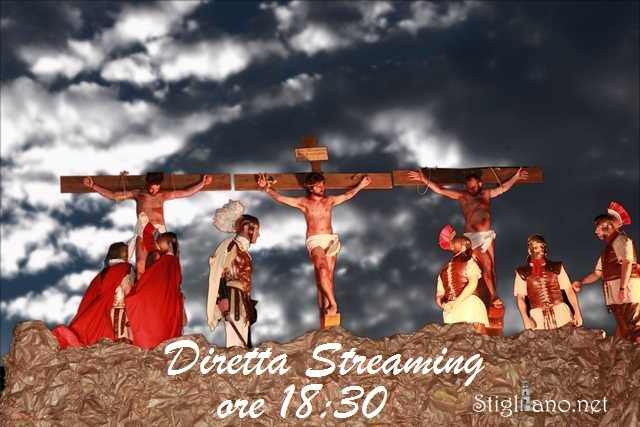 Diretta Streaming Passione di Cristo Cirigliano