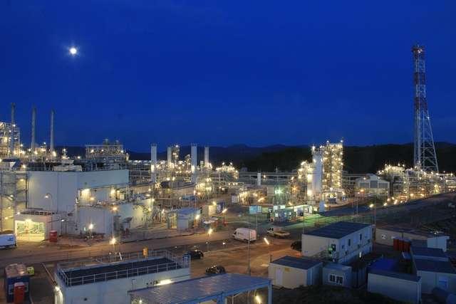 impianto petrolifero di Tempa Rossa, foto Total