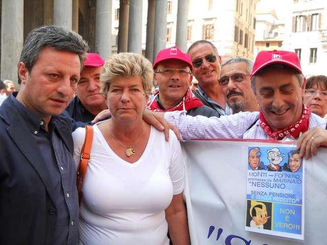 da sinistra, Angelo Summa e Susanna Camusso. Foto CGIL Basilicata