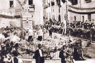 Stigliano (MT), il Monumento ai Caduti