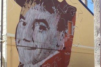 Stigliano (MT), il murales dedicato a Jimmy Savo