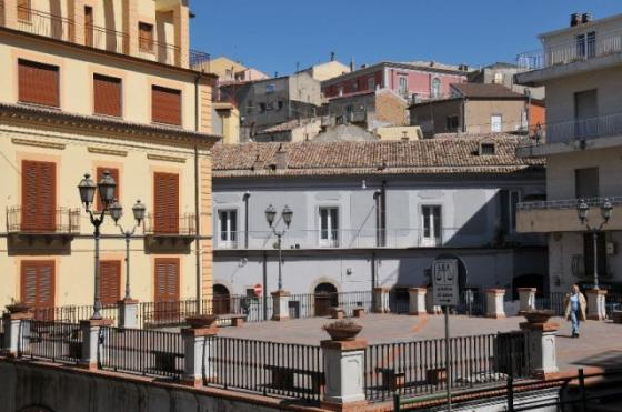 Stigliano, Piazza G. Zanardelli