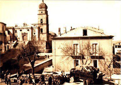 Stigliano, Piazza Zanardelli anni '50