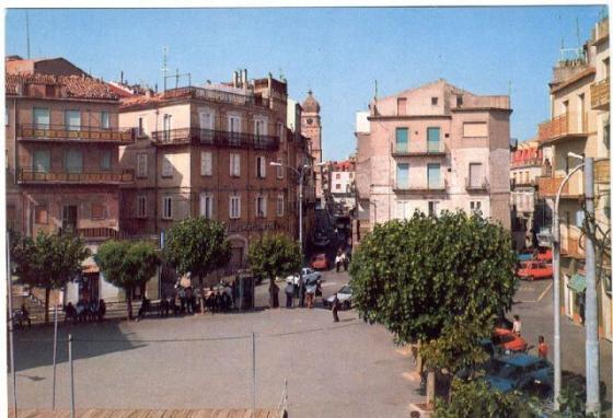 Stigliano, Piazza Garibaldi anni 70