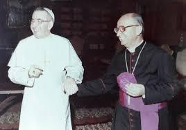 da sinistra, Papa Giovanni Paolo I, Mons. Nicola Rotunno