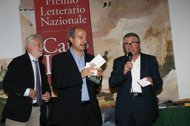 da sinistra: Raffaele Nigro, Carmine Abate e Angelo Colangelo