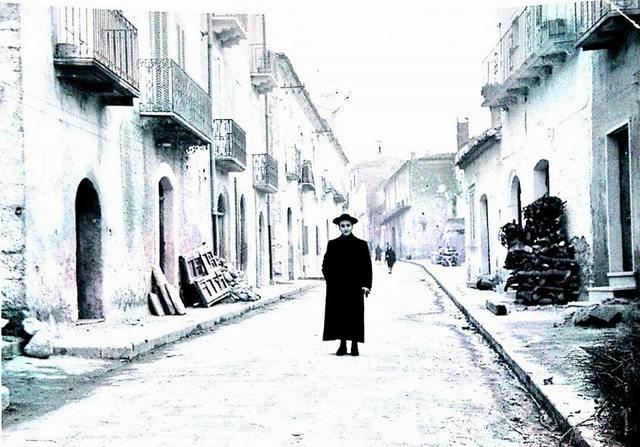 Stigliano, il tragghiaro con don Giacomo Polidoro che vi abitava