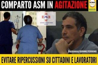 Perrino M5S su stato di agitazione lavoratori ASM
