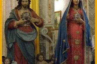 statue dei Sacri Cuori