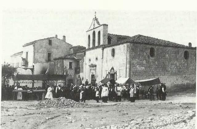 la Chiesa dei Sacri Cuori a Stigliano (MT)