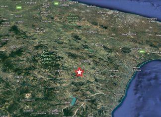 Lieve scossa di terremoto in loc. Mania Del Monte di Stigliano